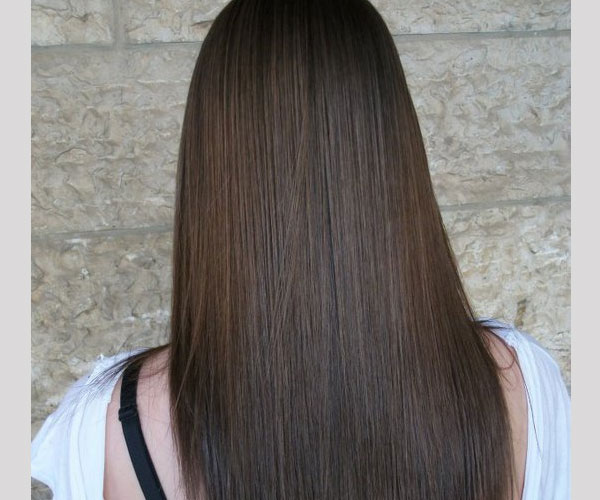 dark long hair 30 Stunning Hairstyles For Long Straight Hair