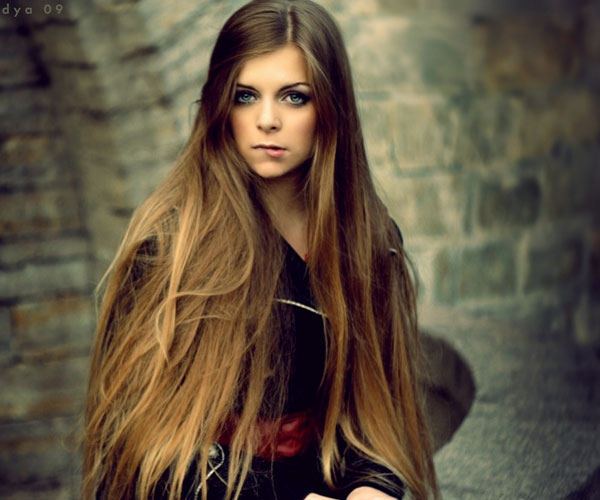 Hairstyles For Long Hair Straight : Long Straight Hairstyle With Bangs Glam Radar Pictures to pin on ...