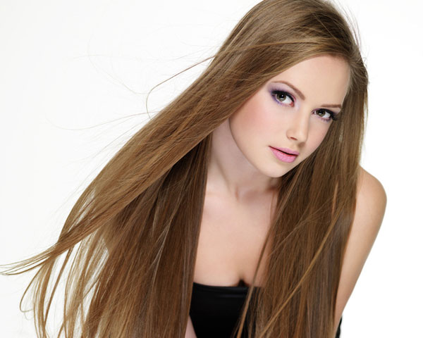 teen with beautiful long hair 25 Fabulous Hairstyles For Oblong Faces