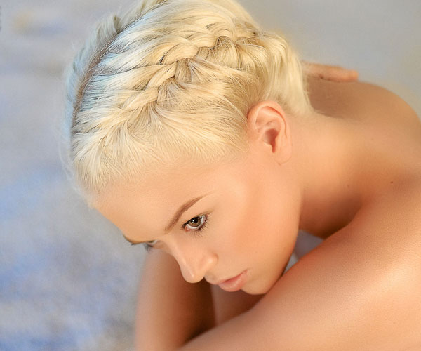 braid in sand 30 Awe Inspiring Hairstyles With Braids