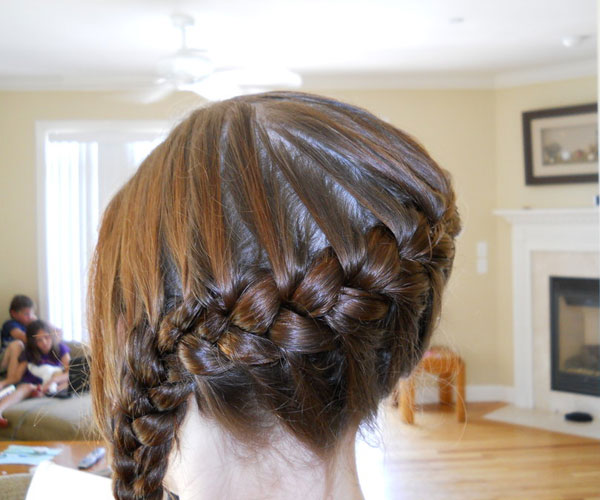 french braid hair 30 Awe Inspiring Hairstyles With Braids