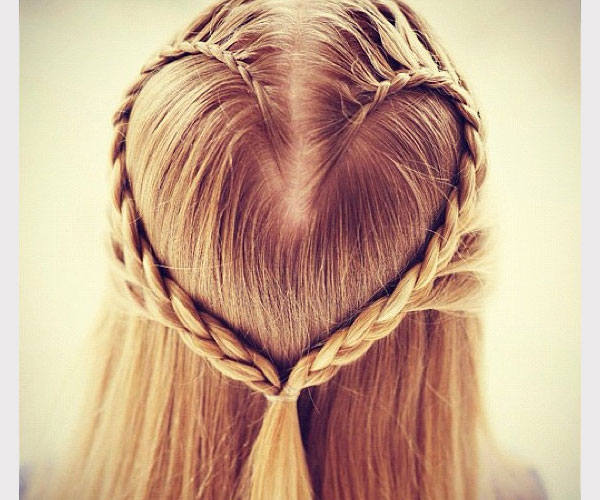 heart shaped hair 30 Awe Inspiring Hairstyles With Braids