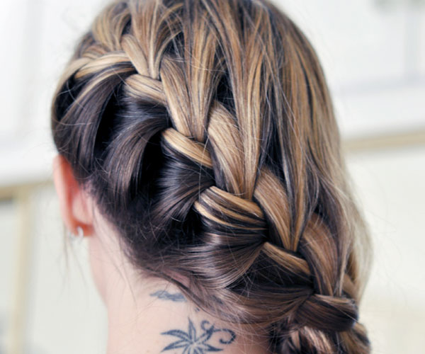 side french braid hair 30 Awe Inspiring Hairstyles With Braids
