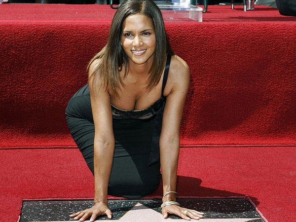 Halle at Hollywood Walk of Fame