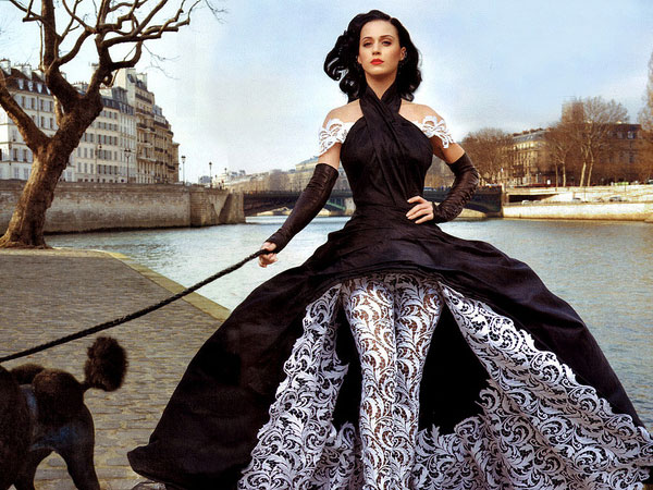 Katy in Jean Paul Gaultier Couture