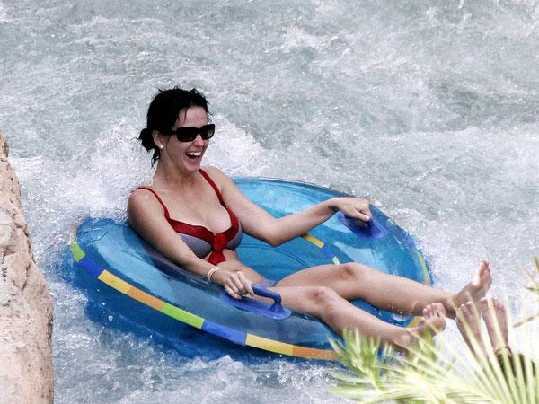 Katy Having Fun