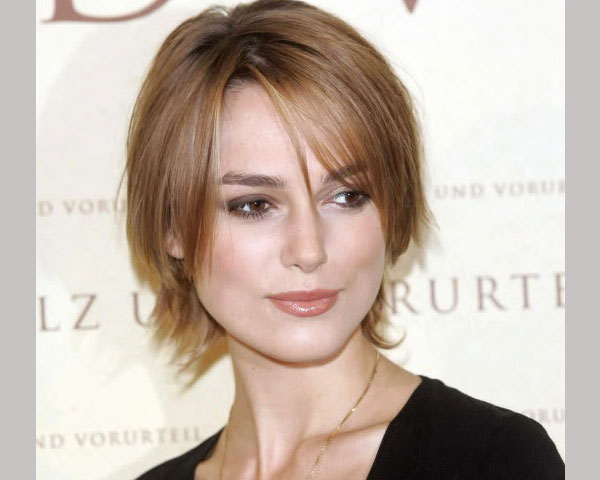 layered short hair style 25 Encouraging Keira Knightley Short Hair