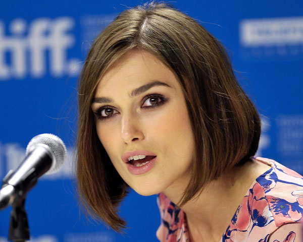 press conference 25 Encouraging Keira Knightley Short Hair