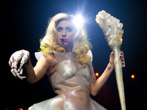 transparent dress 50 Tremendous Lady Gaga Pictures