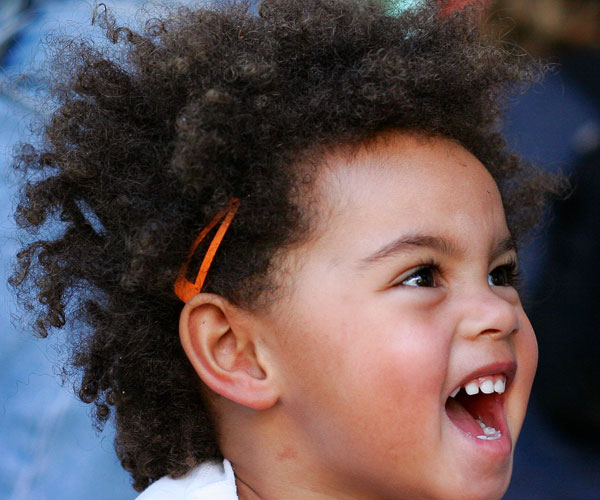 Afro Little Girl Hairstyle