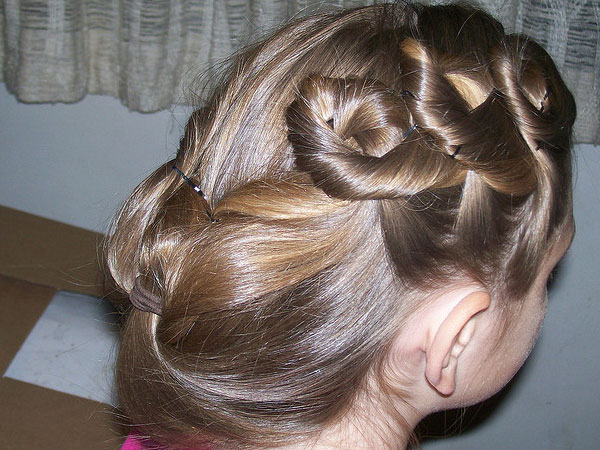 Honeycomb Hairstyle