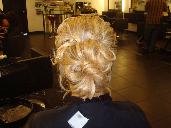 updo back view 30 Beautiful Long Hair Updos