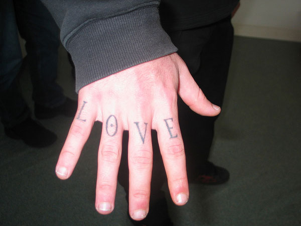 Knuckle Tattoo