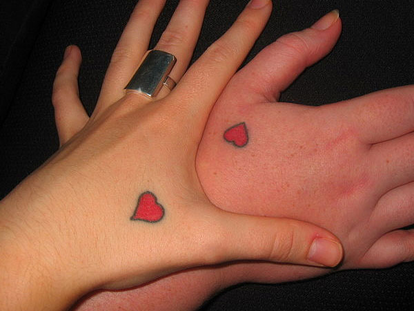 Little Hearts Tattoo