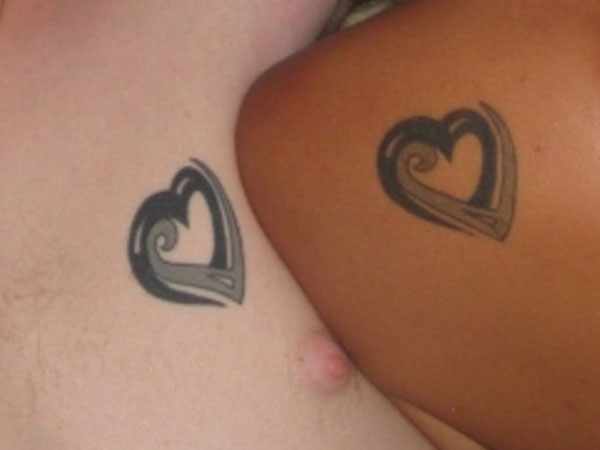 Couple Matching Tattoo