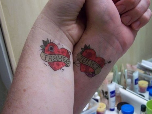 Epic Lovers Tattoo