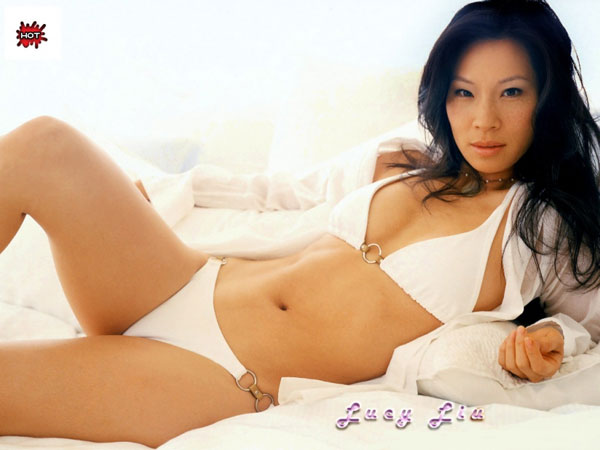 hot lucy liu 30 Groovy Lucy Liu Pictures