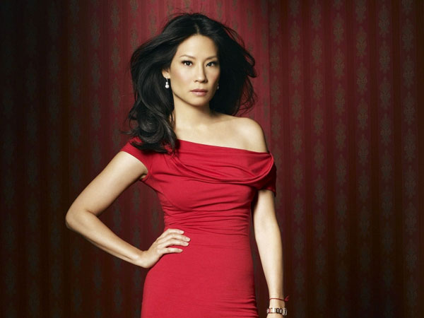 in red 30 Groovy Lucy Liu Pictures
