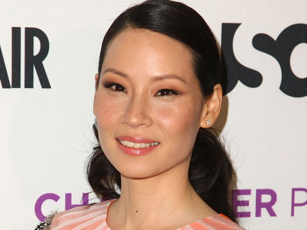 orange dress 30 Groovy Lucy Liu Pictures