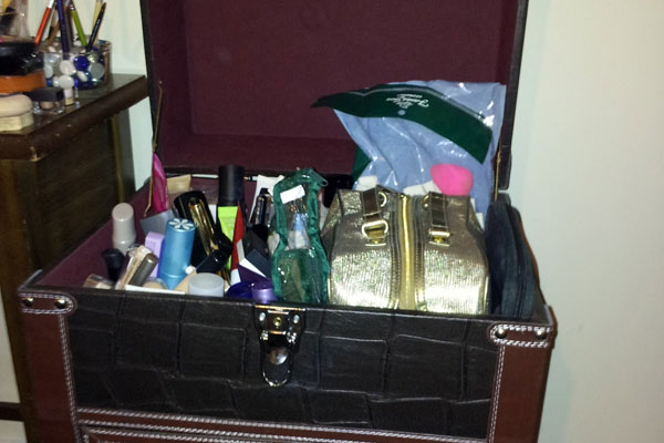 Makeup Leather Box