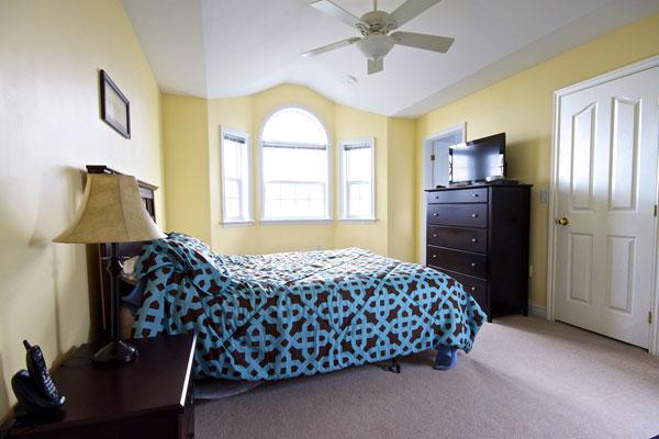 Stately Bedroom Design