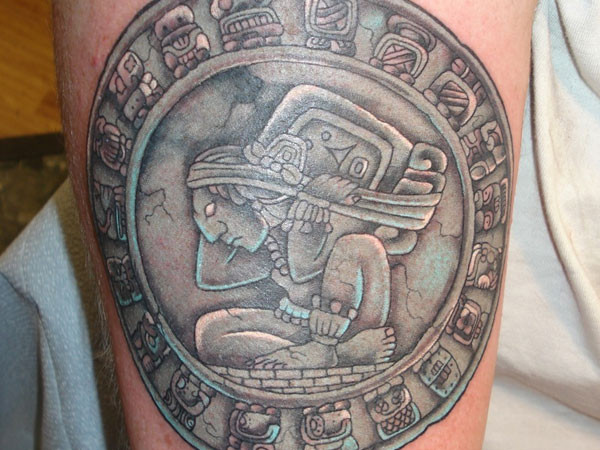 arm tattoo 30 Perfect Mayan Tattoos