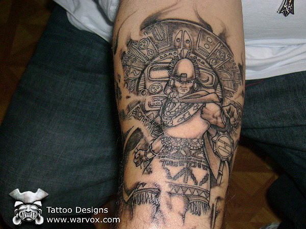 inca emperor tattoo 30 Perfect Mayan Tattoos