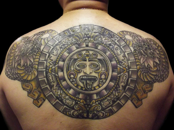 mayan calendar serpent 30 Perfect Mayan Tattoos