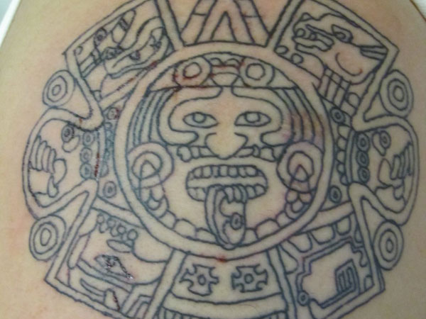 mayan calendar tattoo 30 Perfect Mayan Tattoos