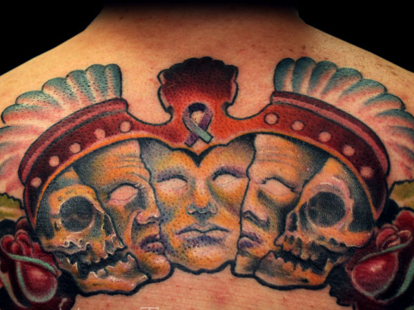 mayan mask 30 Perfect Mayan Tattoos