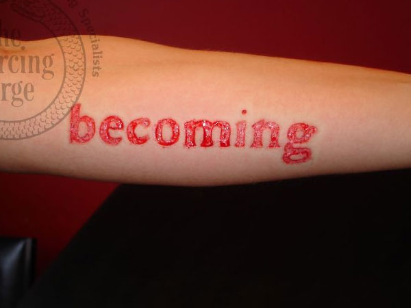 Scarification Piece