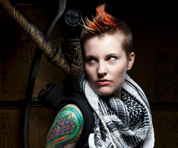 Awe Inspiring 40 Staggering Mohawk Hairstyles Slodive Hairstyle Inspiration Daily Dogsangcom