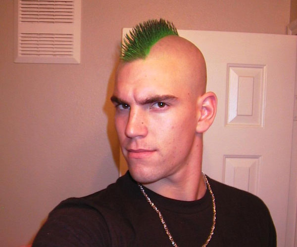 the green hornet 40 Staggering Mohawk Hairstyles