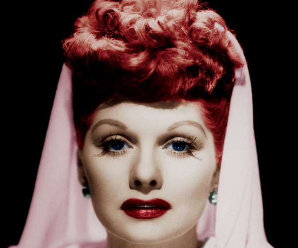lucille ball 30 Stylish Old Hollywood Hairstyles