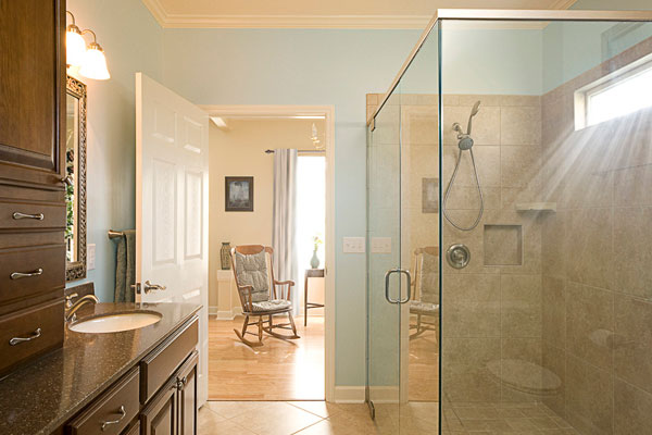 handicap accessible bathroom 30 Fascinating Paint Colors For Bathrooms