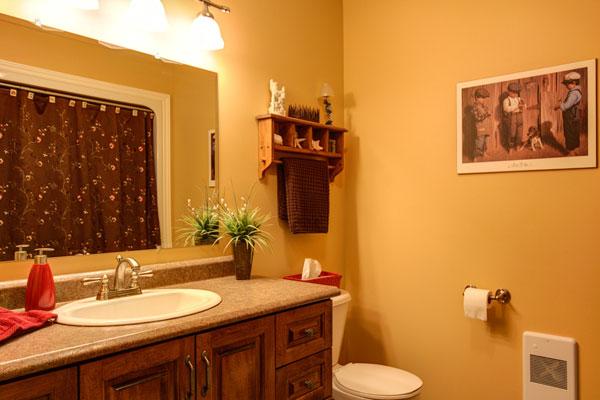 Color Glow Bathroom