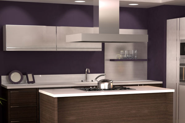 purple 40 Breathtaking Paint Colors For Kitchens