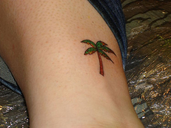 palm tree tattoo 25 Spectacular Palm Tree Tattoo Designs