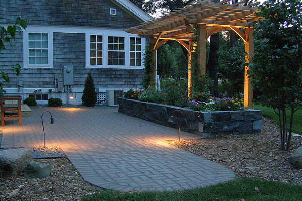 Awesome Evening Patio