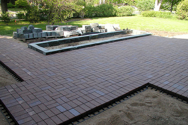 Neat Paver Patio