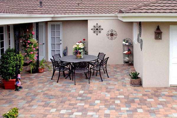 Patio Design Ideas With Pavers Moreover Outdoor Fire Pit Patio Design