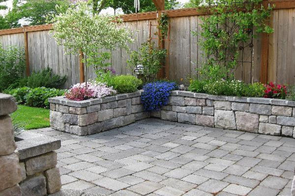 paver patio texture