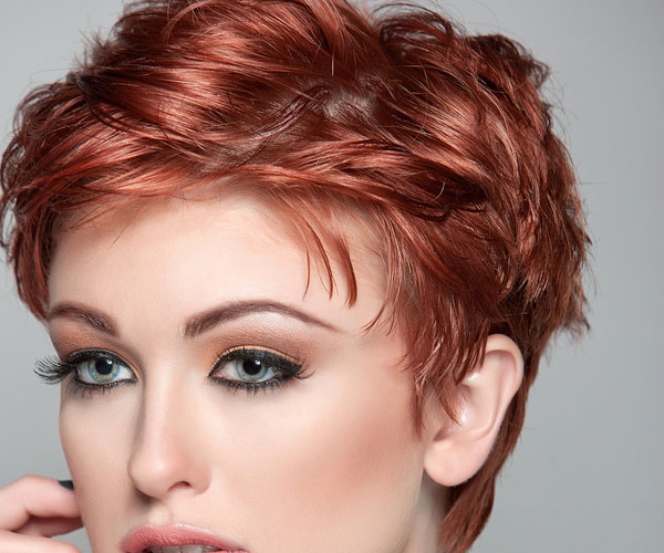 red hair 35 Impressive Pixie Hairstyles