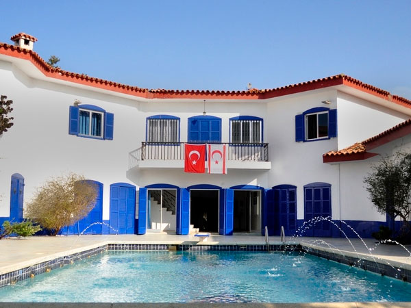 Blue Pool House