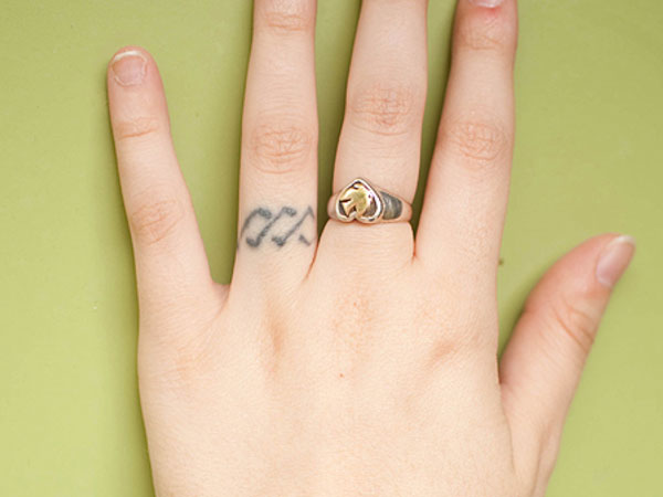 my tattoo 25 Marvelous Ring Finger Tattoos
