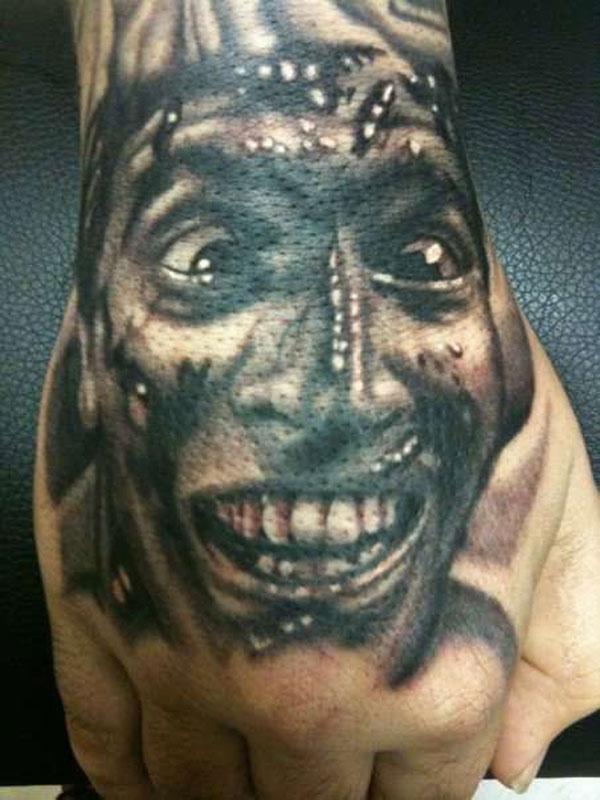 Ash Evil Tattoo