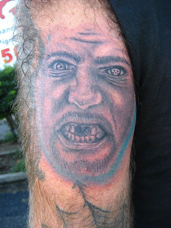 Scary Guy Tattoo
