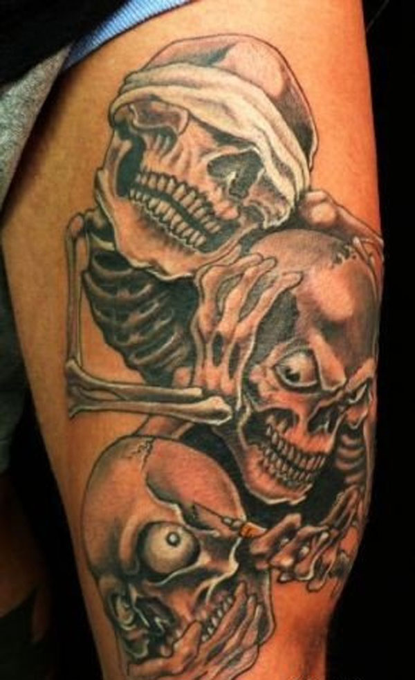 Skeletons Tattoo