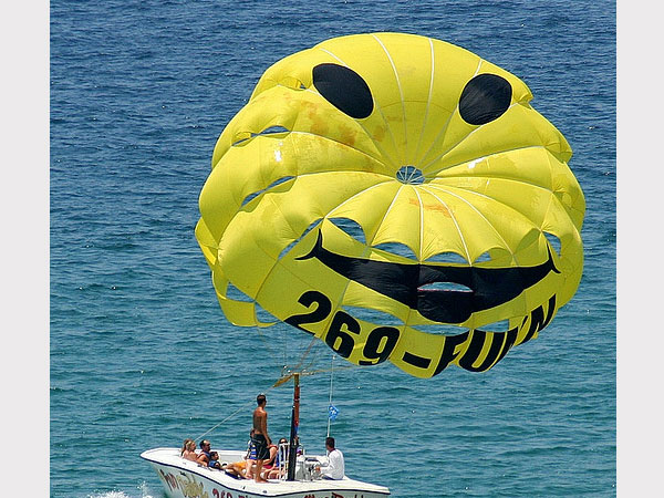 smiley face parachute 30 Beautiful Smiley Face Pictures