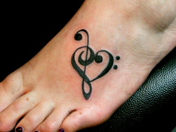 Lovely Foot Tattoo